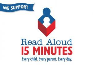 Read Aloud 15 MINUTES Logo