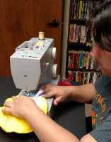 Demmer Emoji Pillow Sewing February 2017