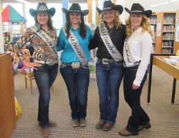 Merrill Rodeo Queens Read June 2017