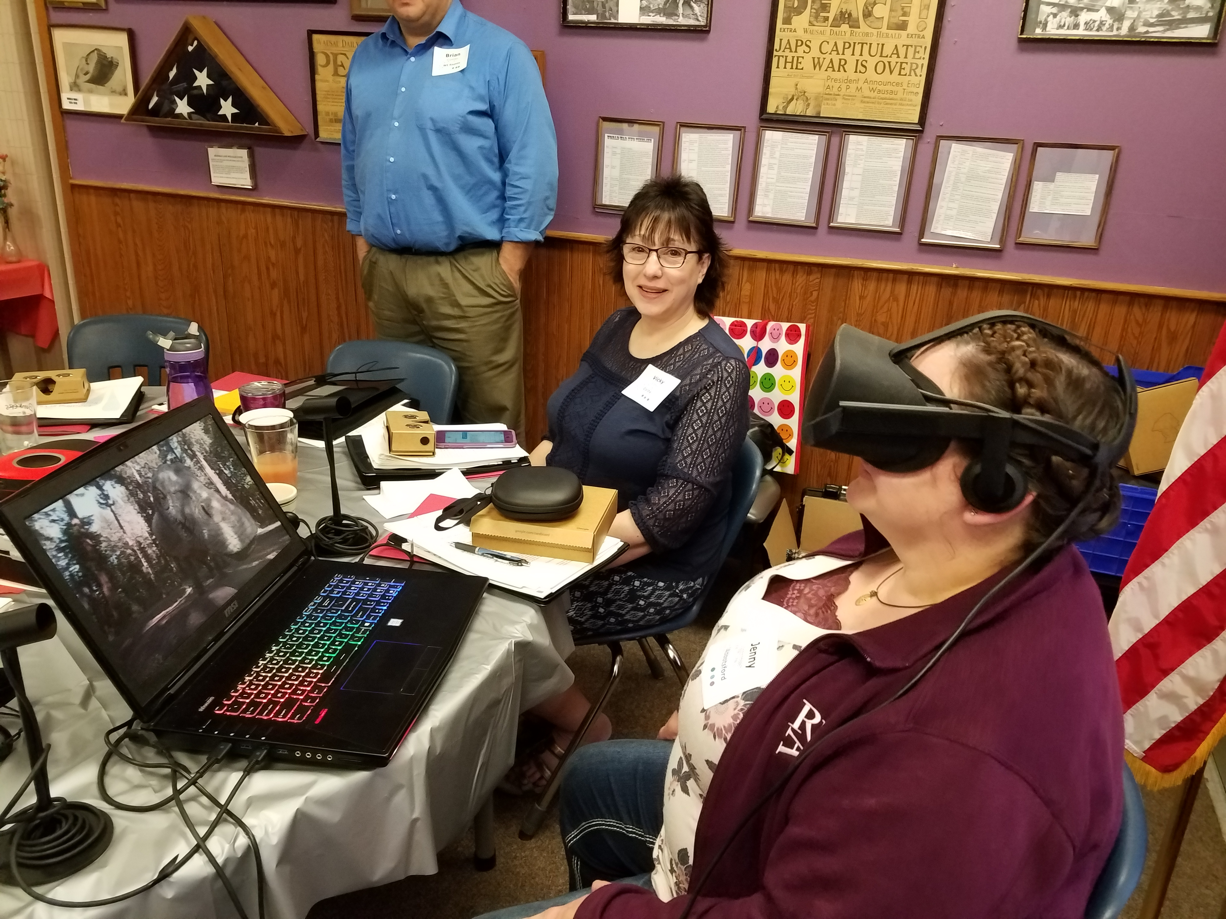 Table 3 Virtual Reality