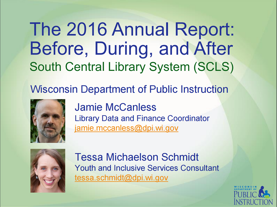 2016 Annual Report Resources