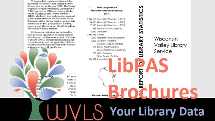 Create Annual Report Brochures in LibPAS