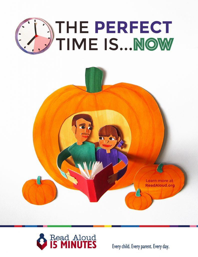 Read Aloud October 2016 Pumpkin Poster