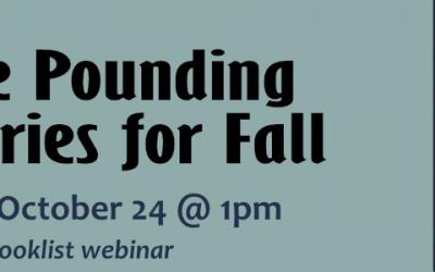 Pulse Pounding Mysteries for Fall: Booklist Webinar TOMORROW!