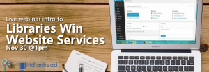 Website Services Webinar @ WVLS/IFLS webinar
