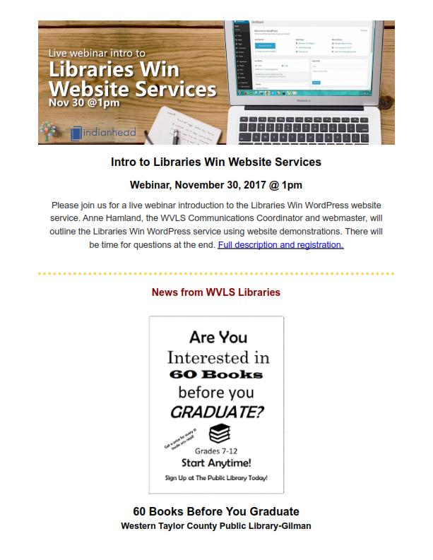 WVLS Newsletter 22 November 22 2017 Page 3
