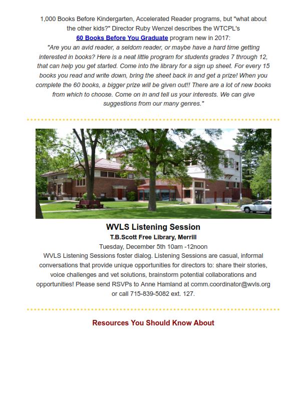 WVLS Newsletter 22 November 22 2017 Page 4