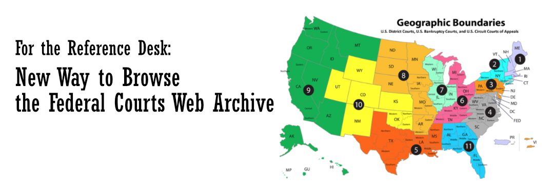 Federal Courts Web Archive