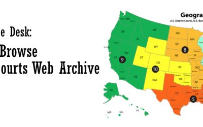 For the Reference Desk: New Way to Browse the Federal Courts Web Archive