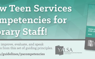 New Teen Services Competencies and 2018 Webinars