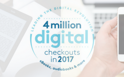 Wisconsin's Digital Library Check Outs Reach New Record