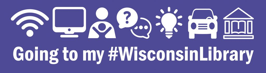 Going to my #WisconsinLibrary bumpersticker 2018
