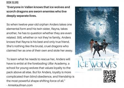 Amie Kaufman Ice Wolves (Elementals #1)