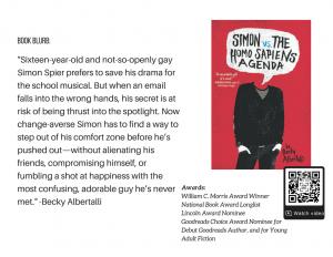 Becky Albertalli Simon Vs. the Homosapiens Agenda