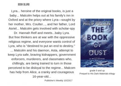 Philip Pullman Book of Dust