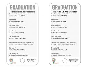 Teen Books Discussing Graduation