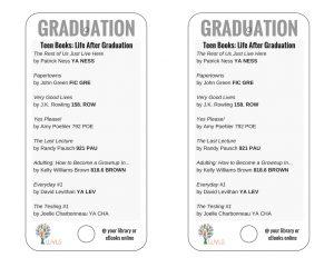 Teen Books Discussing Graduation