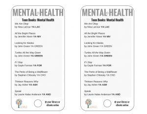 Teen Books Discussing Mental Health
