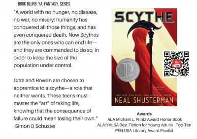 Neal Shusterman Scythe