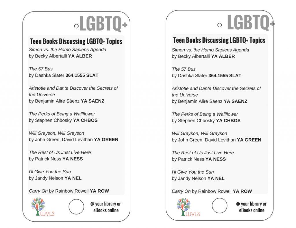 Teen Books Discussing LGBTQ+