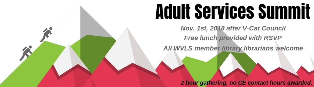 Adult Services Summit: Adult Programming and Services Gathering