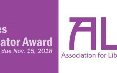 Maureen Hayes Author/Illustrator Award Application Open