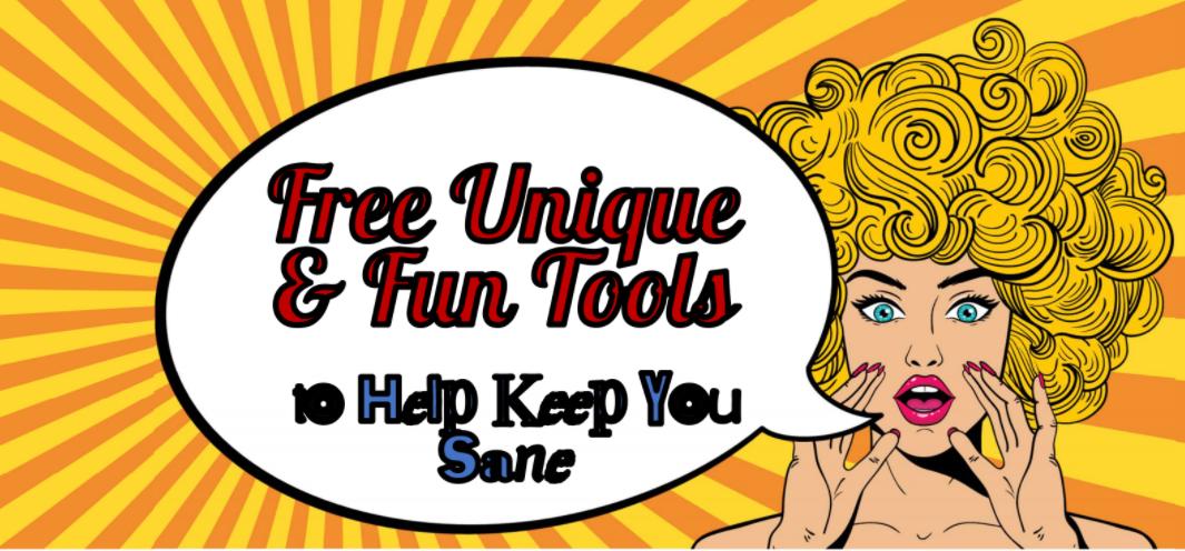 """""""Free and Unique Tools"""" Webinar"""