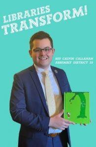 Representative Calvin Callahan Assembly District35