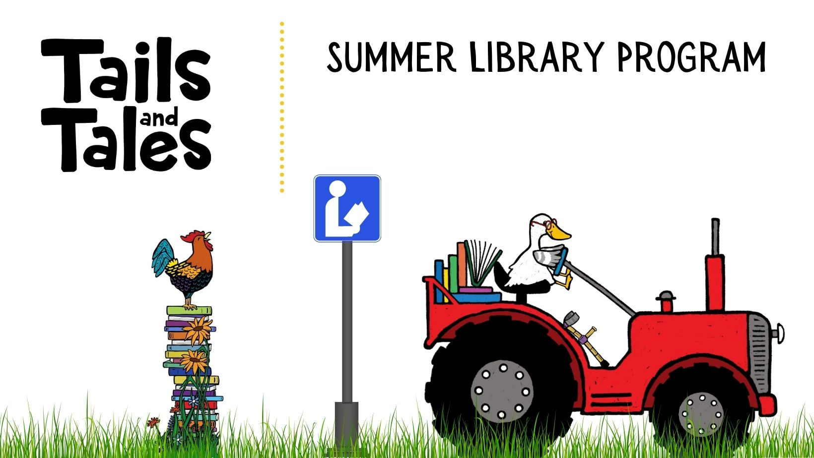 Facebook Cover Template for Summer Library programs in 2021