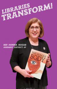 Representative Donna Rozar Assembly District 69